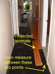 installing laminate hallways from another room