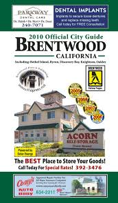 2010 2011 brentwood california yellow pages by brentwood press