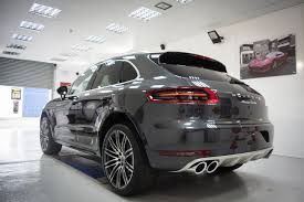 porsche macan grey macan turbo performance package delivery page 2 porsche