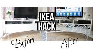 Overlays For Furniture by Ikea Hack Mirrored Tv Stand Youtube