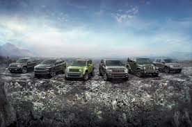 2010 jeep lineup 2016 jeep lineup adds 75th anniversary edition for all models