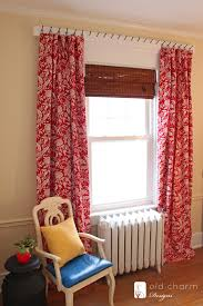 garden suite curtain reveal and tutorial diy curtain rods diy