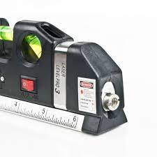 aliexpress com buy cross line laser level and ruler measuring
