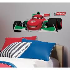 cars 2 francesco giant removable wall decal wall2wall cars 2 francesco giant removable wall decal