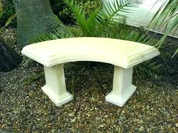 cement table and bench concrete garden table amaryllis for gardening