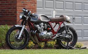 honda 750 garage built honda cb750k cafe racer u2013 bikebound