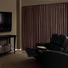 Heavy Curtains Block Light Absolute Zero Velvet Blackout Home Theater Curtain Panel Walmart Com