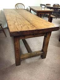 solid wood dining room sets farmhouse oak dining table laughingredhead me
