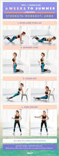 Chair Resistance Band Exercises X A A Day 6 Weeks To Summer Challenge Arm Workouts