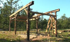 How To Build A Lean To On A Pole Barn Building An Old Fashioned Pole Barn Part 2 Farm Hand U0027s