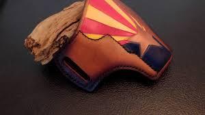 Az State Flag Arizona State Flag 1911 Hancrafted Leather Holster Youtube