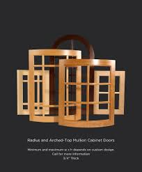 Cabinet Door Company Radius Mullion Doors Taylorcraft Cabinet Door Company