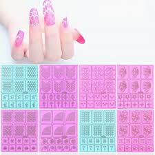 compare prices on airbrush stencil for nails online shopping buy