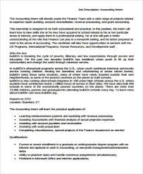 accounting internship cover letter sample example cover
