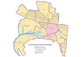 map of ta area clue small area and block maps city of melbourne