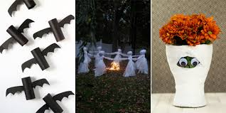 home made halloween decorations easy homemade halloween decoration ideas