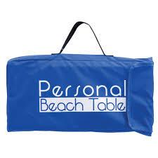 rio folding beach table rio beach folding table with tote walmart com
