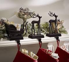 santa s sleigh holders pottery barn