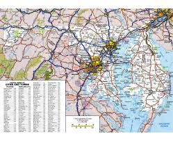 Maryland national parks images Maps of maryland state collection of detailed maps of maryland jpg