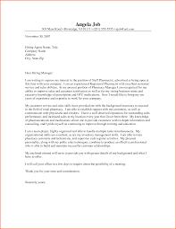 sample cover letter for pharmacist best letter samples pharmacist