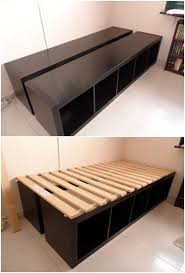 Shelf Bed Frame Image Result For Cube Organizer Bed Frame My Future House