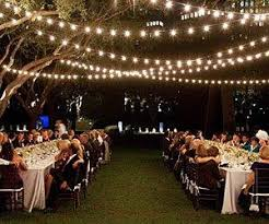 banquet and string lighting rental in nj ny