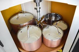 how to organize pots and pans in a cupboard kitchen organization organizing pots pans small