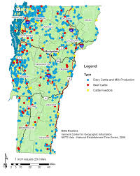 Usda Loan Map Livestock And Meat Food Production The Plan Vermont Farm To