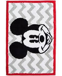 Disney Bath Rug Mickey Chevron Rug Bath Rugs Bath Mats Bed Bath Macy S