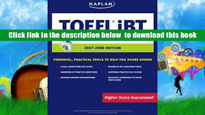 read online kaplan toefl ibt with cd rom 2007 2008 edition