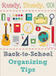 organizing yourself ready steady go organize yourself for back to school