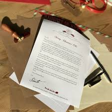 santa letter for you baby u0027s first christmas the north pole