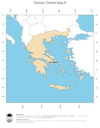 Greece Maps Map Greece Ginkgomaps Continent Europe Region Greece