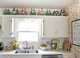 Above Cabinet Storage Above Kitchen Cabinet Storage Ideas 7 Things To Do With That