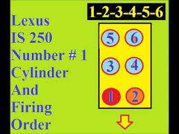 lexus is 250 4 cylinder lexus is 250 firing order number one cylinder