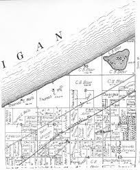 Plat Maps by Porter County Indiana Genweb Township Plat Maps 1895