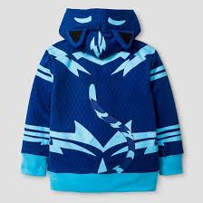 pj masks toddler boys u0027 catboy costume hooded sweatshirt blue