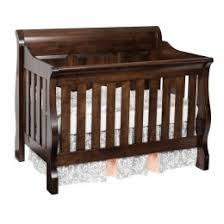 cribs convertible baby cribs maple oak u0026 cherry amish made