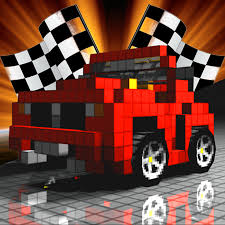 blocky roads version apk minecraft and blocky racing pixel deadly roads design your own