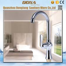 solid brass kitchen faucet luxury lead led kitchen sink faucet with single handle deck mouted