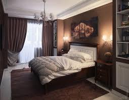 couleur de chambre moderne le marron apporte le confort