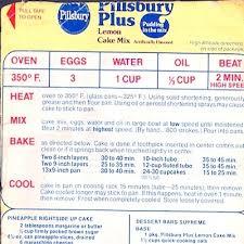 cake directions recipe pineapple rightside up cake bundt cake pillsbury lemon