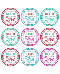baked with love printable tags a gift to you the cottage market