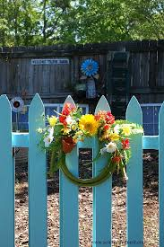 using color to unify a garden my blue garden gate a cultivated