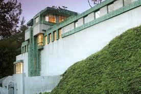 lloyd wright designed samuel novarro house sells in hollywood