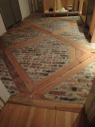 Floors And Kitchens St John Diy How To Install This Brick Floor Using 2 X 4 U0027s And Brick