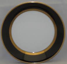 mikasa renaissance antique fitz floyd renaissance black on white china