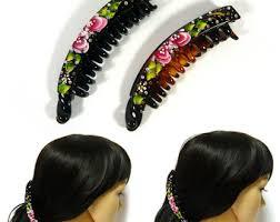 banana hair clip hair clip etsy