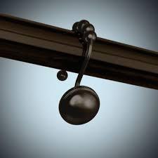 Bronze Shower Curtain Hooks Buy Oil Rubbed Shower Curtain Hooks In Bronze From Bed Bath U0026 Beyond