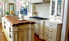 kitchen island wood countertop kitchen island countertops mission kitchen